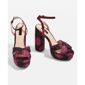 Top shop lollie embroidered sandals